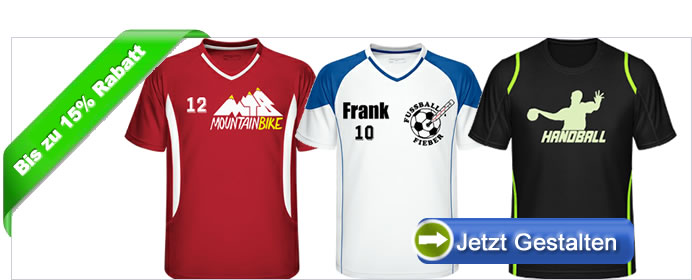 6f25e0f1086e Herren Trikots bedrucken lassen. Für die Profi- und Freizeitsportler unter  uns, hat Captain T-Shirt hochwertige Herrentrikots im Online Designer, ...